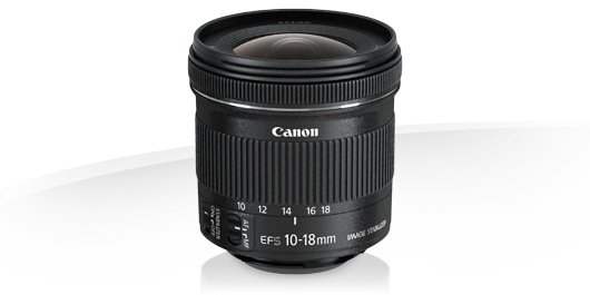 Canon EF-s 10-18mm f/4-5,6 IS STM