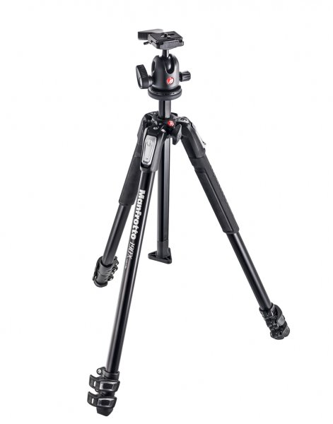 Manfrotto MT-190 Xpro4 + 496RC2