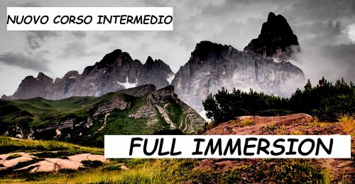 Full Immersion Corso Intermedio di Fotografia